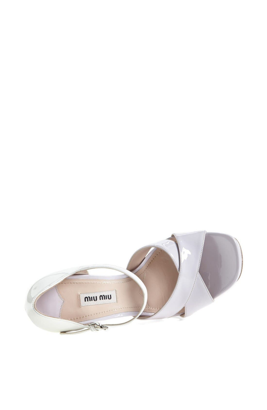 Alternate Image 4  - Miu Miu Mary Jane Platform Sandal