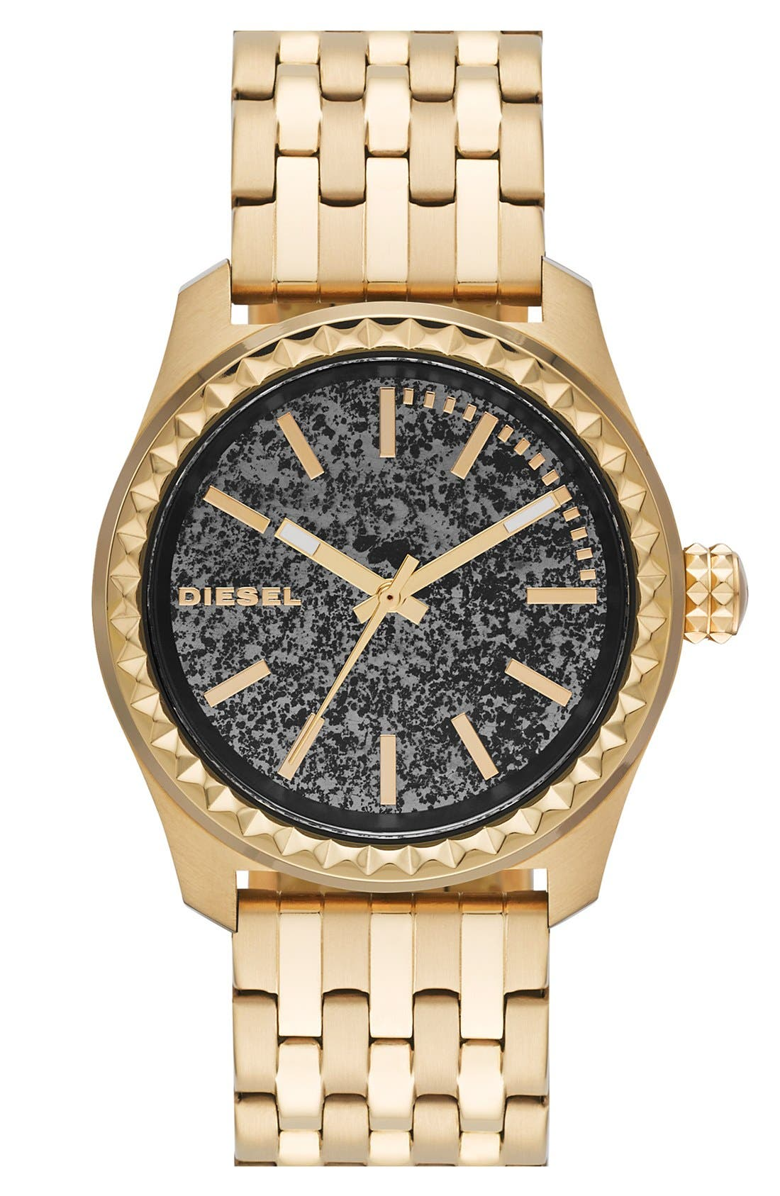 Main Image - DIESEL® 'Kray Kray' Bracelet Watch, 38mm