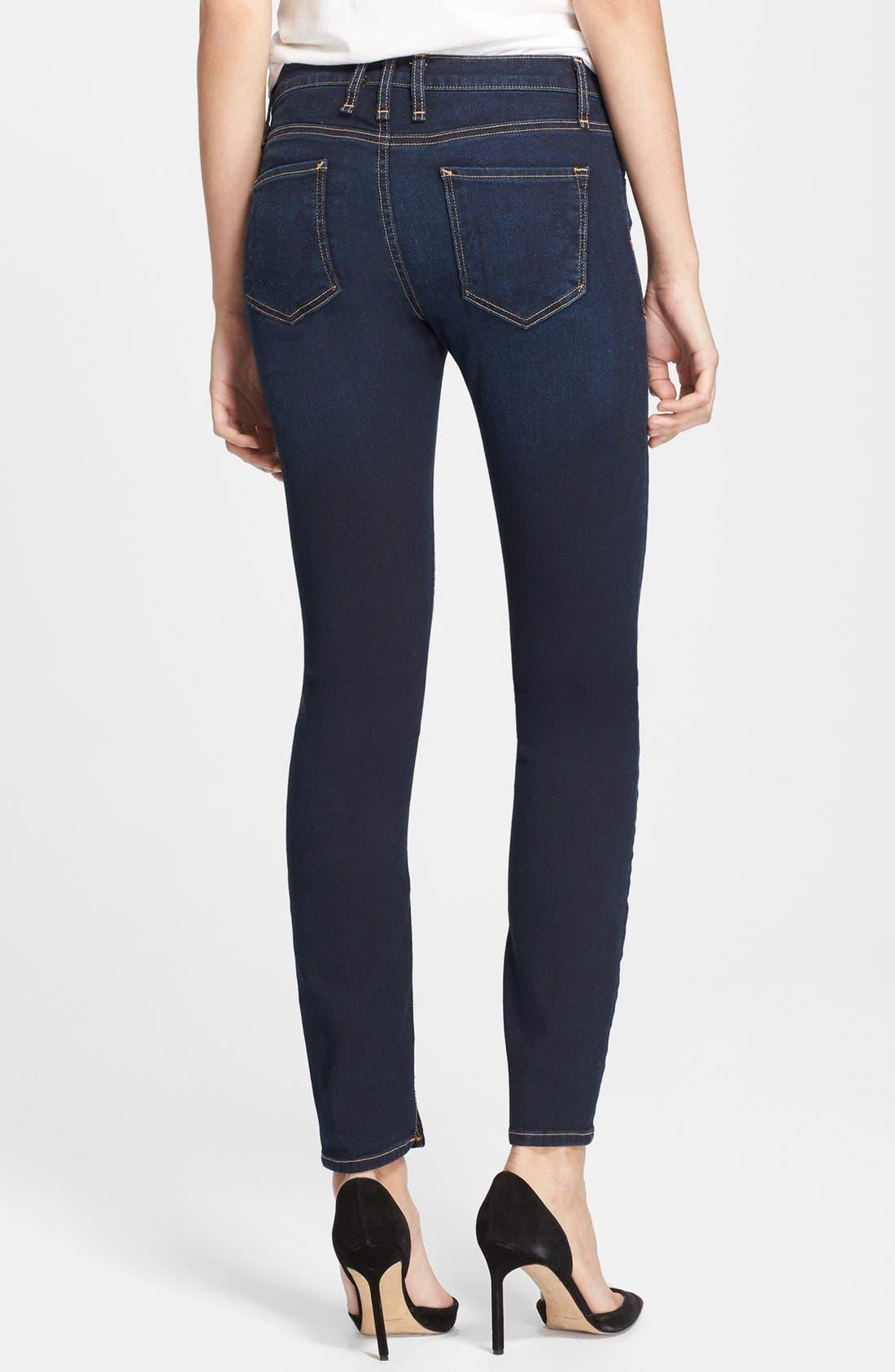 Alternate Image 2  - McGuire Skinny Ankle Jeans (Atlantic Blue)