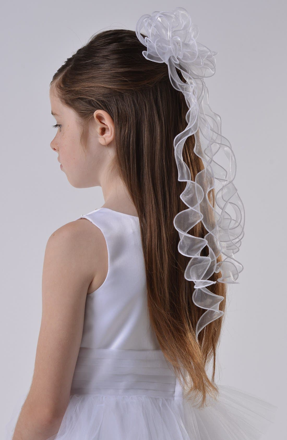 Us Angels Organza Communion Veil
