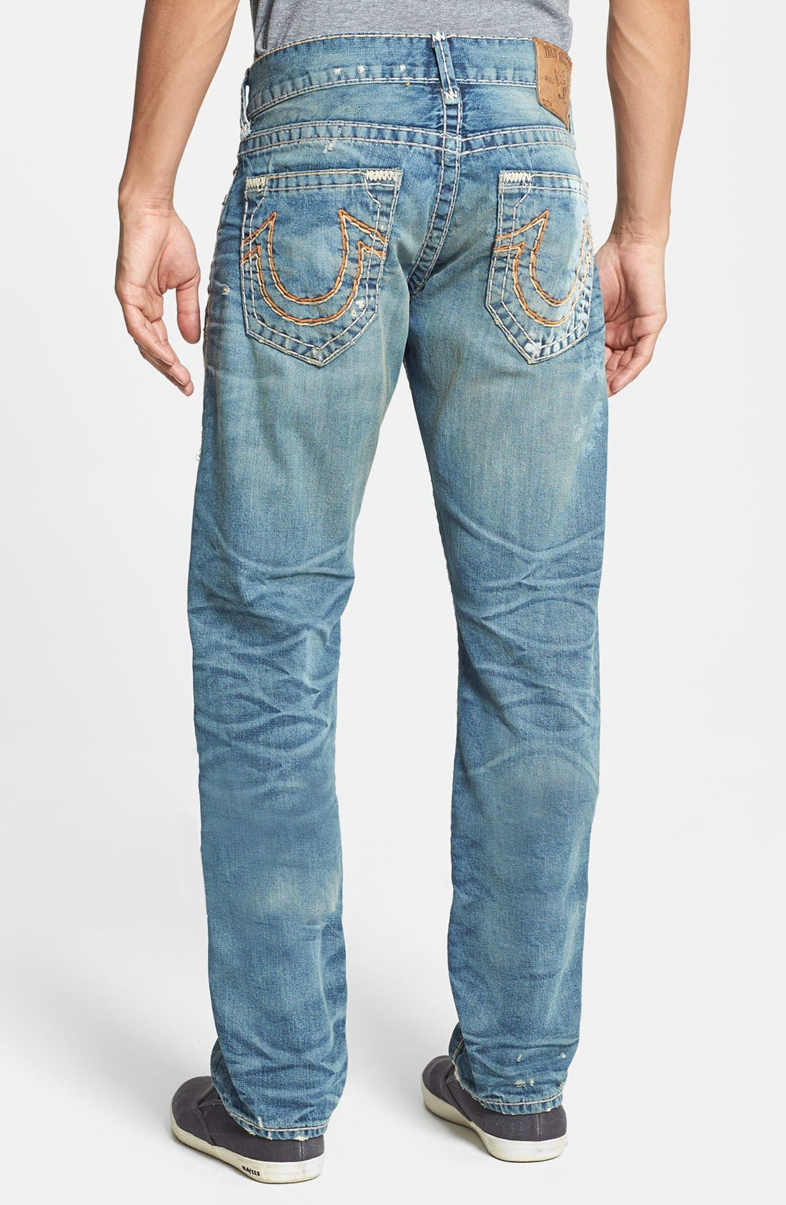Main Image - True Religion Brand Jeans 'Geno' Straight Leg Jeans (Babm Greatest Hits)
