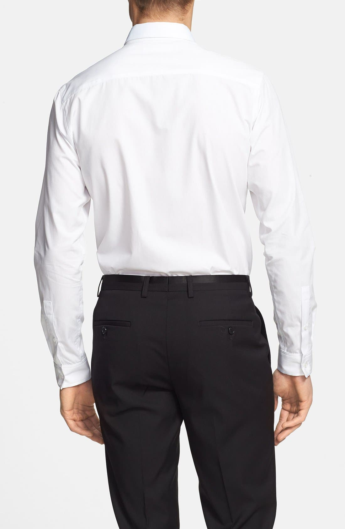 Alternate Image 2  - Topman Slim Fit Dress Shirt