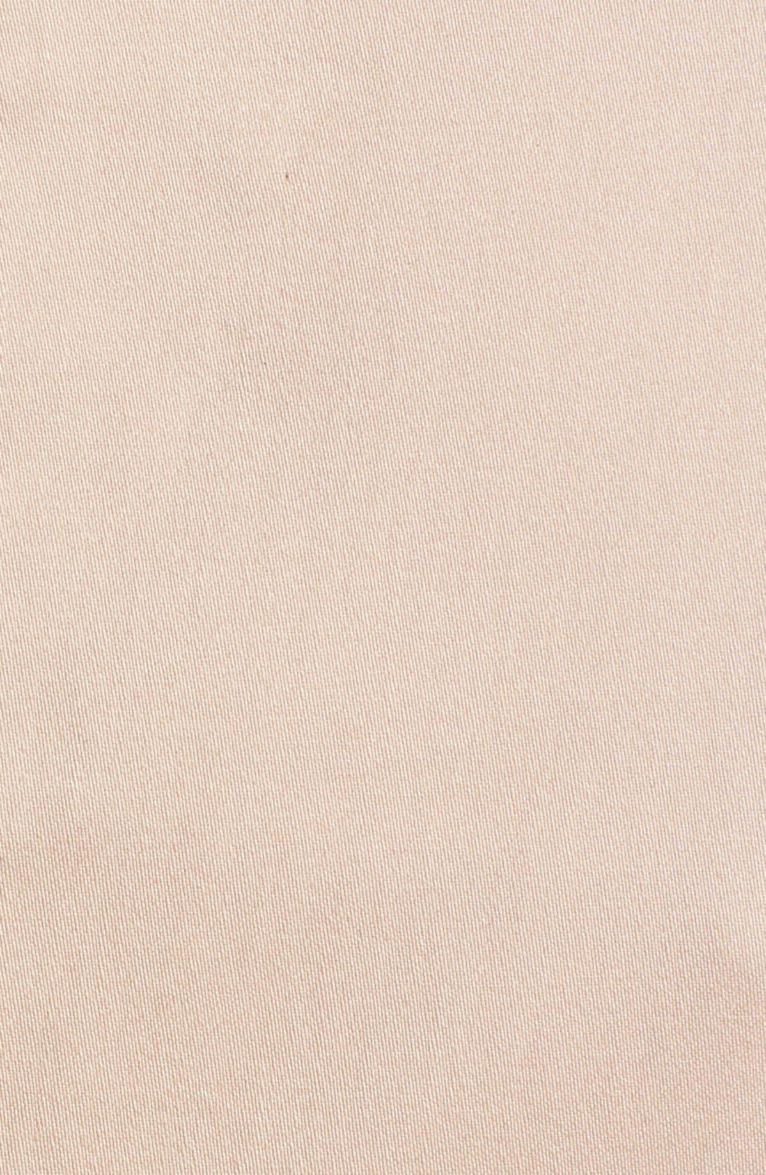 Alternate Image 4  - Ellen Tracy Faux Leather Trim Sleeveless Sheath Dress