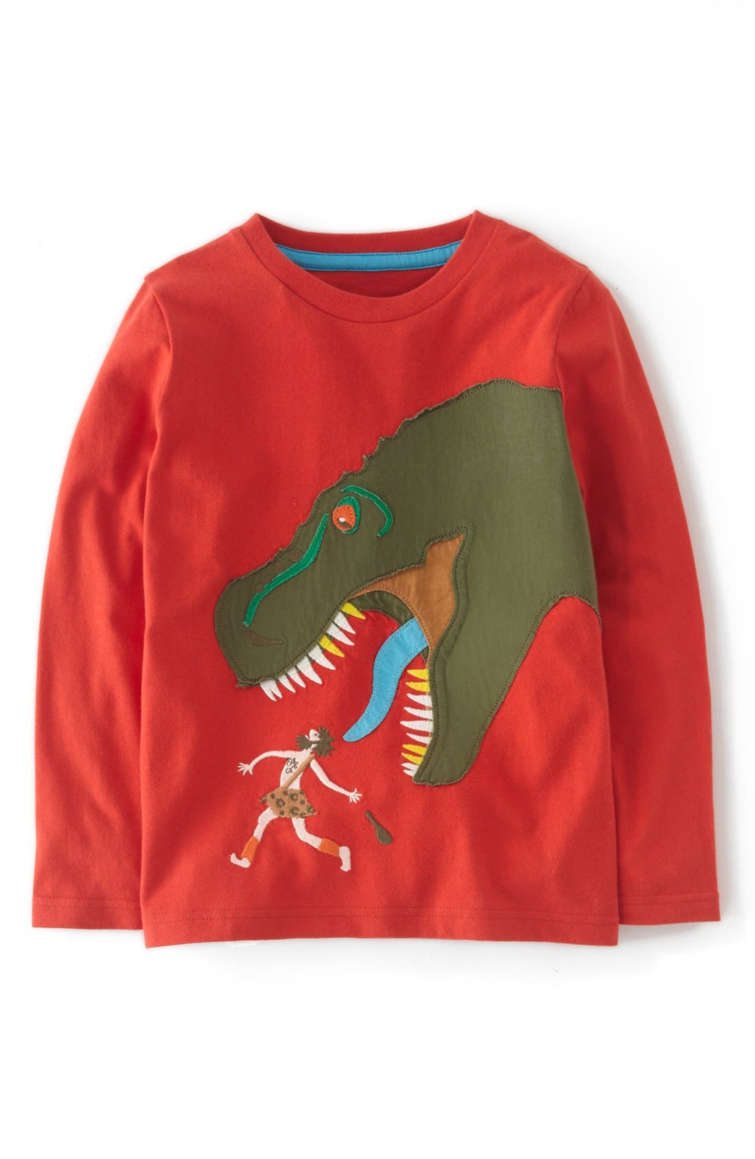 Alternate Image 1 Selected - Mini Boden 'Action' Long Sleeve T-Shirt (Little Boys & Big Boys)