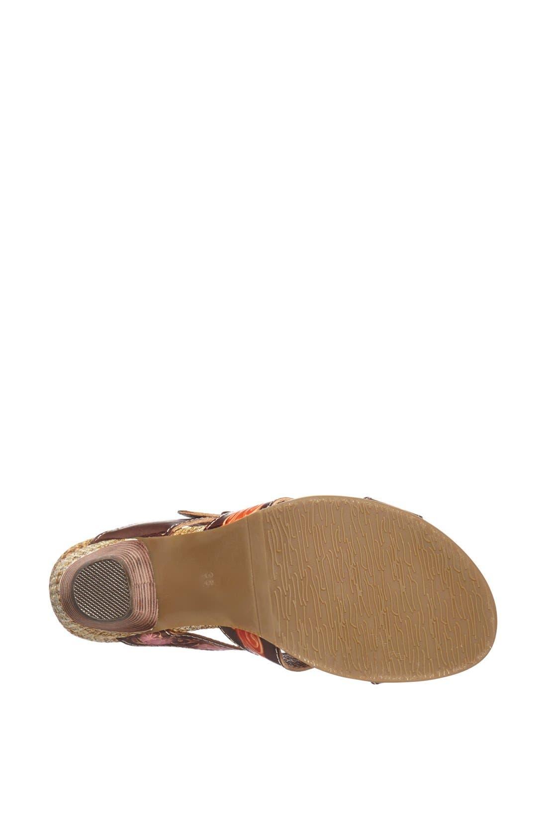 Alternate Image 4  - Spring Step 'Queenie' Leather Sandal