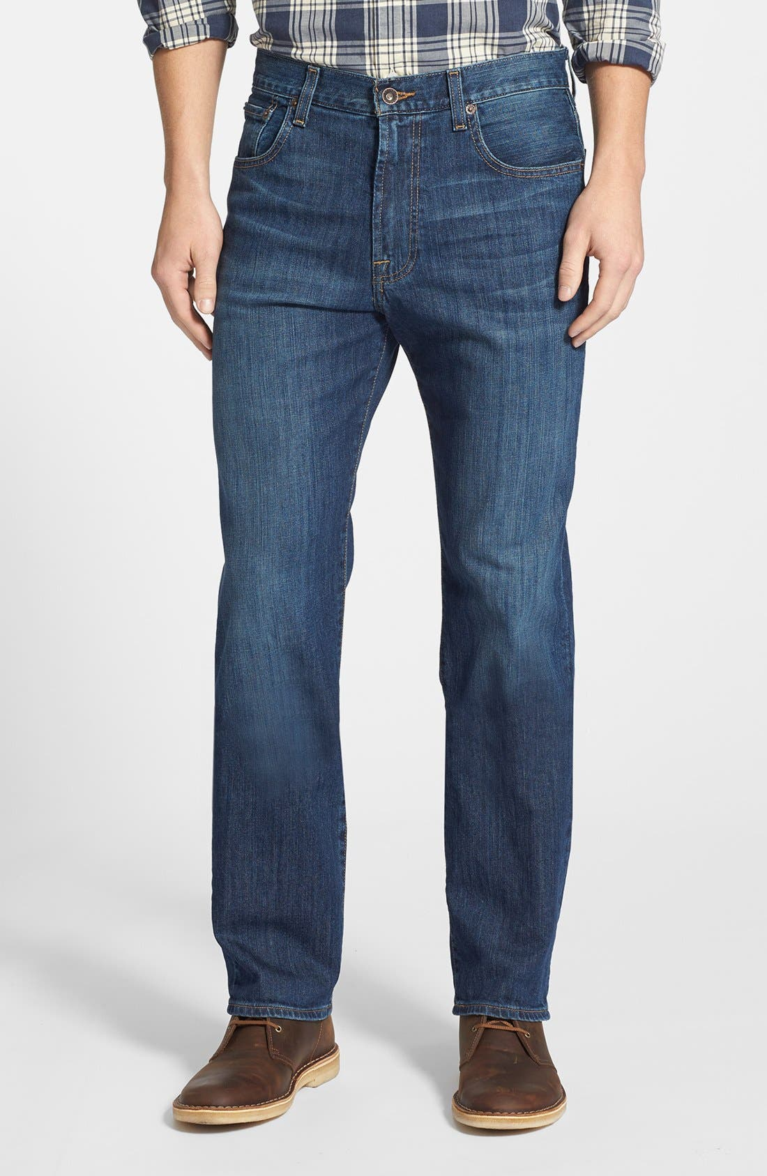 Alternate Image 1 Selected - Lucky Brand '481' Relaxed Fit Jeans (Mazatlan)