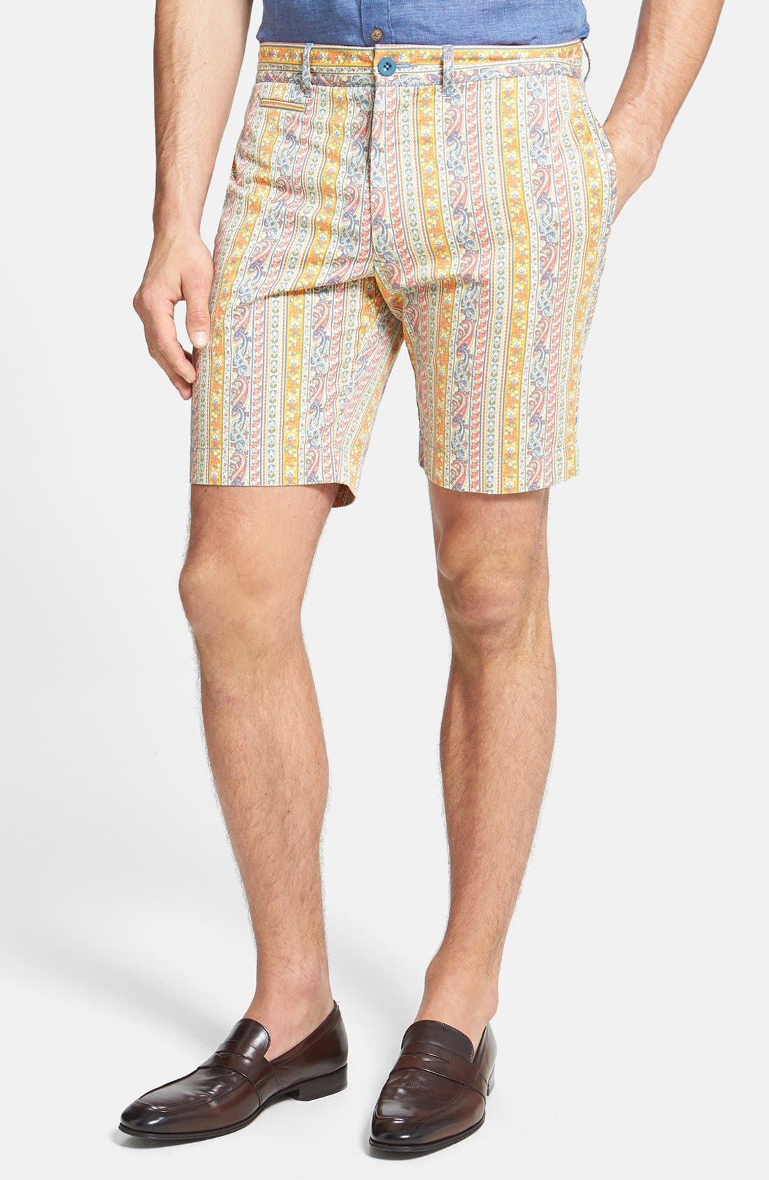 Alternate Image 1 Selected - Grayers 'Newport' Paisley Shorts