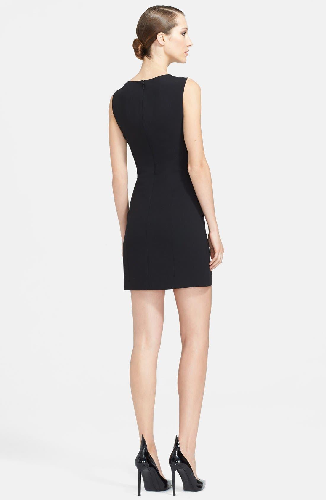 Alternate Image 2  - Saint Laurent Illusion Dot Yoke Dress