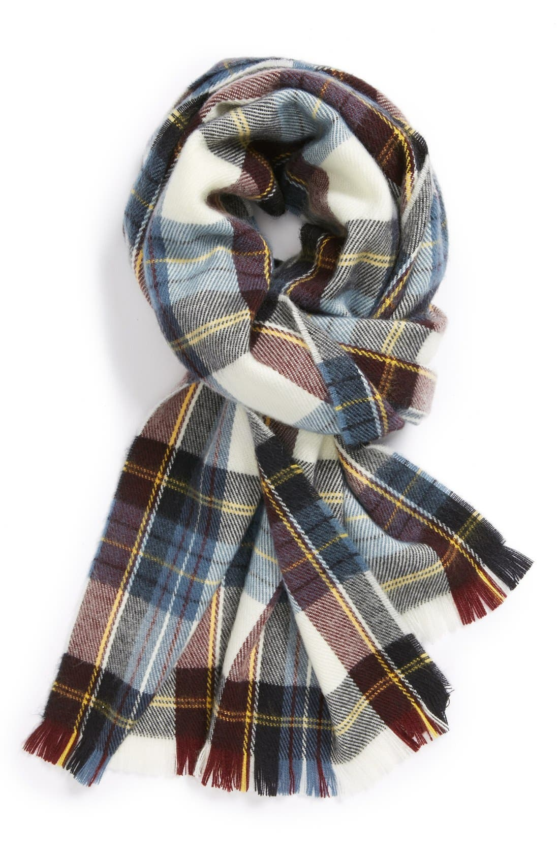 Alternate Image 1 Selected - Topshop Plaid Scarf