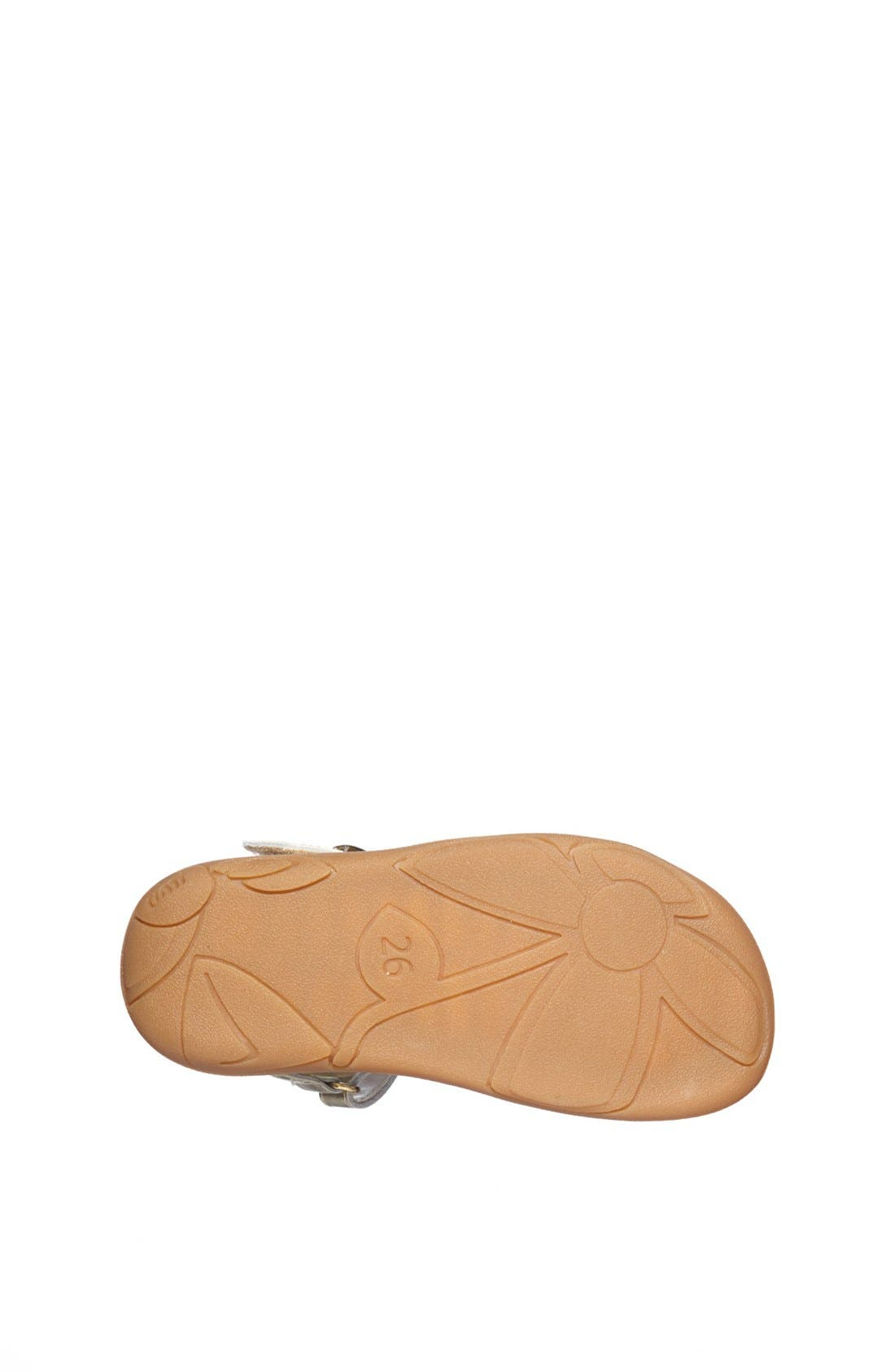 Alternate Image 4  - Umi 'Cora' Ankle Strap Sandal (Walker, Toddler & Little Kid)