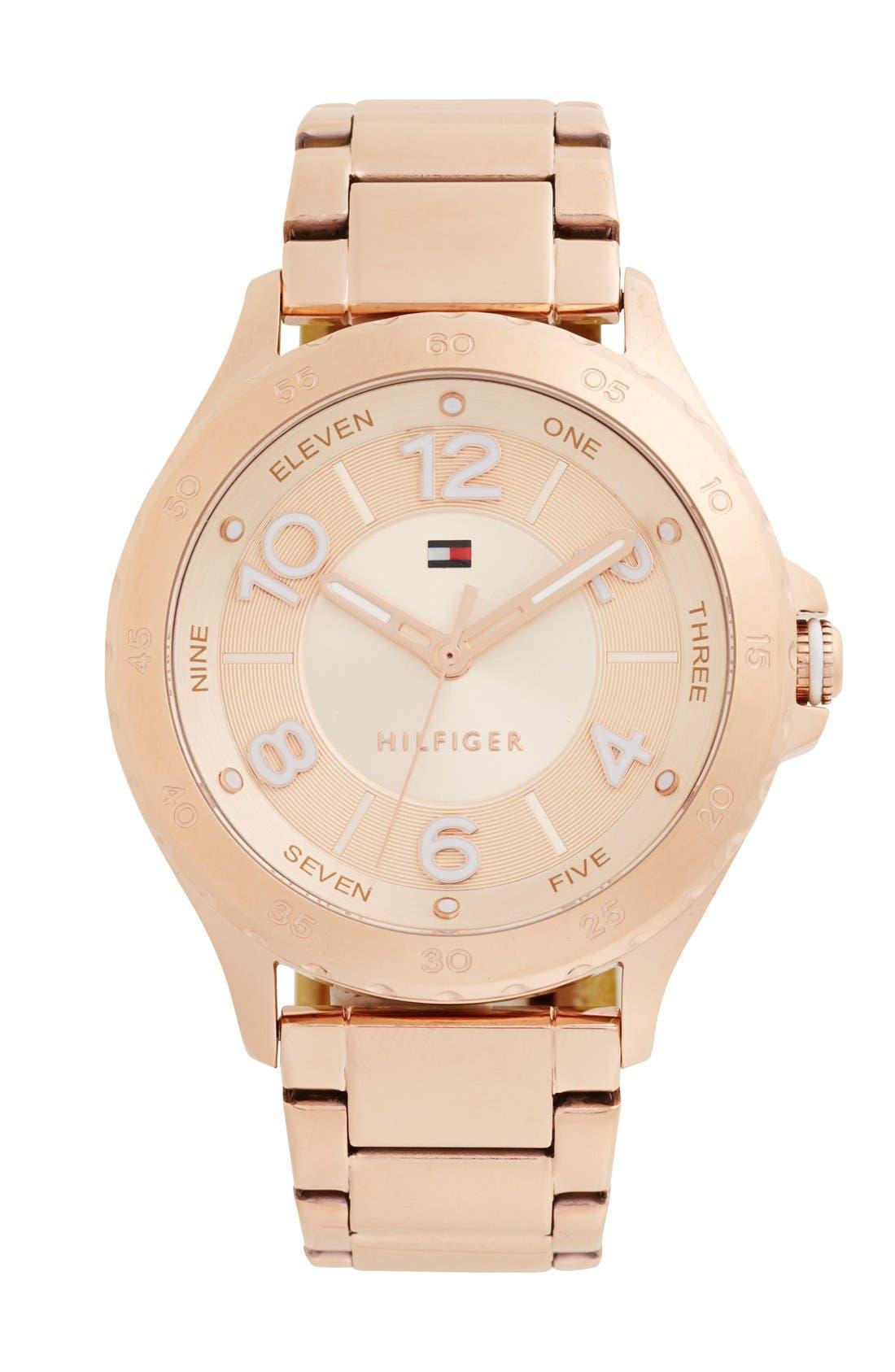 Alternate Image 1 Selected - Tommy Hilfiger Bracelet Watch, 40mm