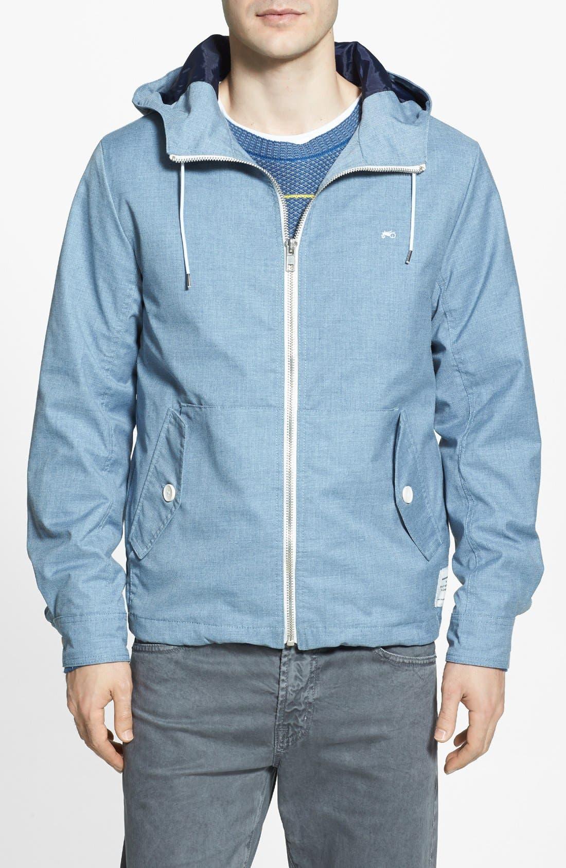 Main Image - Moods of Norway 'Jon Andre' Cotton Zip Jacket