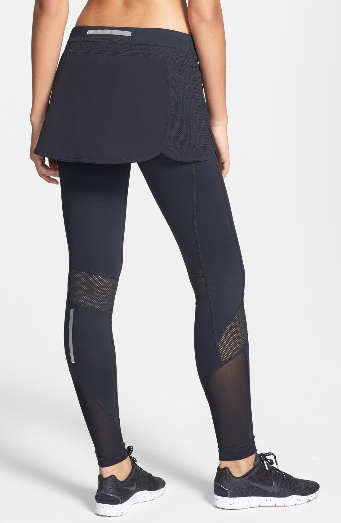 Alternate Image 2  - Zella 'Sidelight' Track Skirt