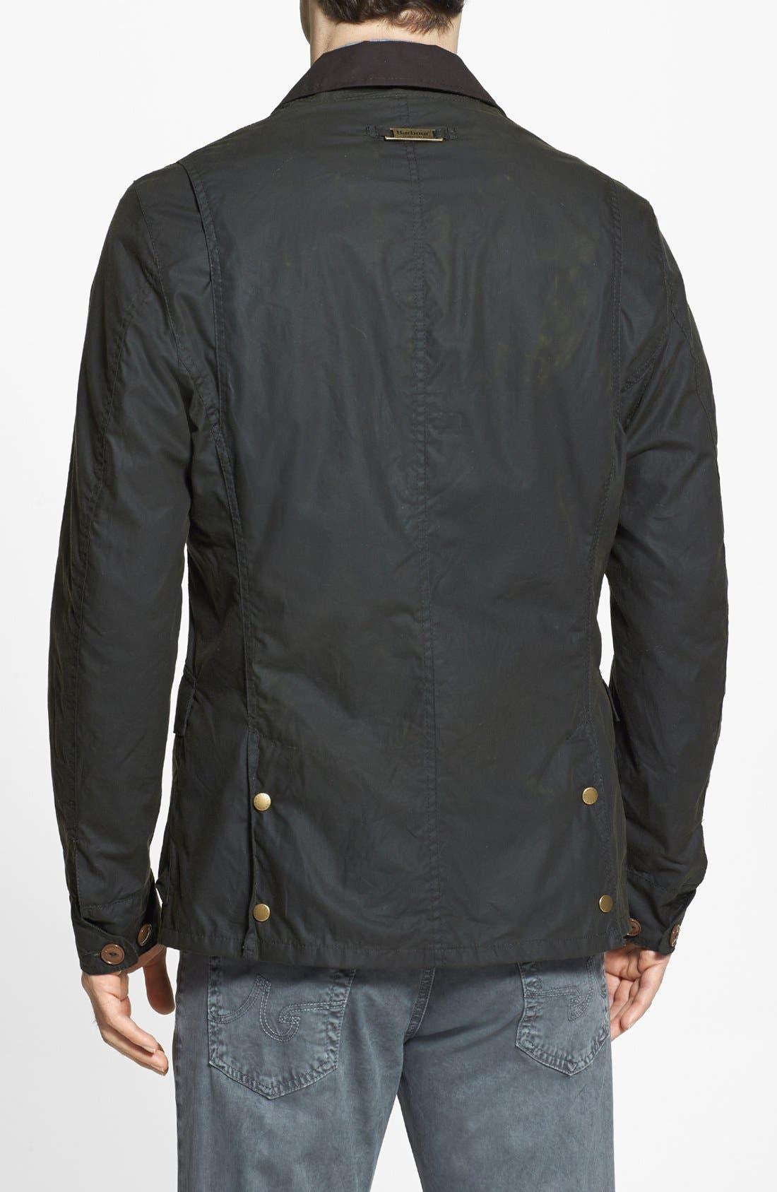 Alternate Image 2  - Barbour 'Stanley' Weatherproof Waxed Regular Fit Jacket