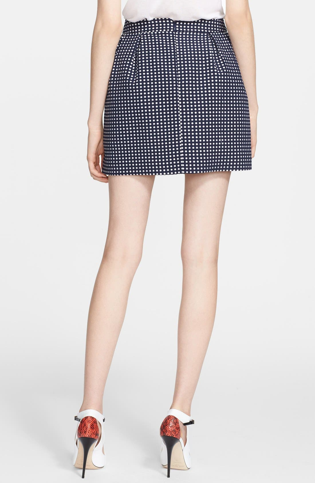Alternate Image 2  - Mcginn 'Mari' Polka Dot Skirt