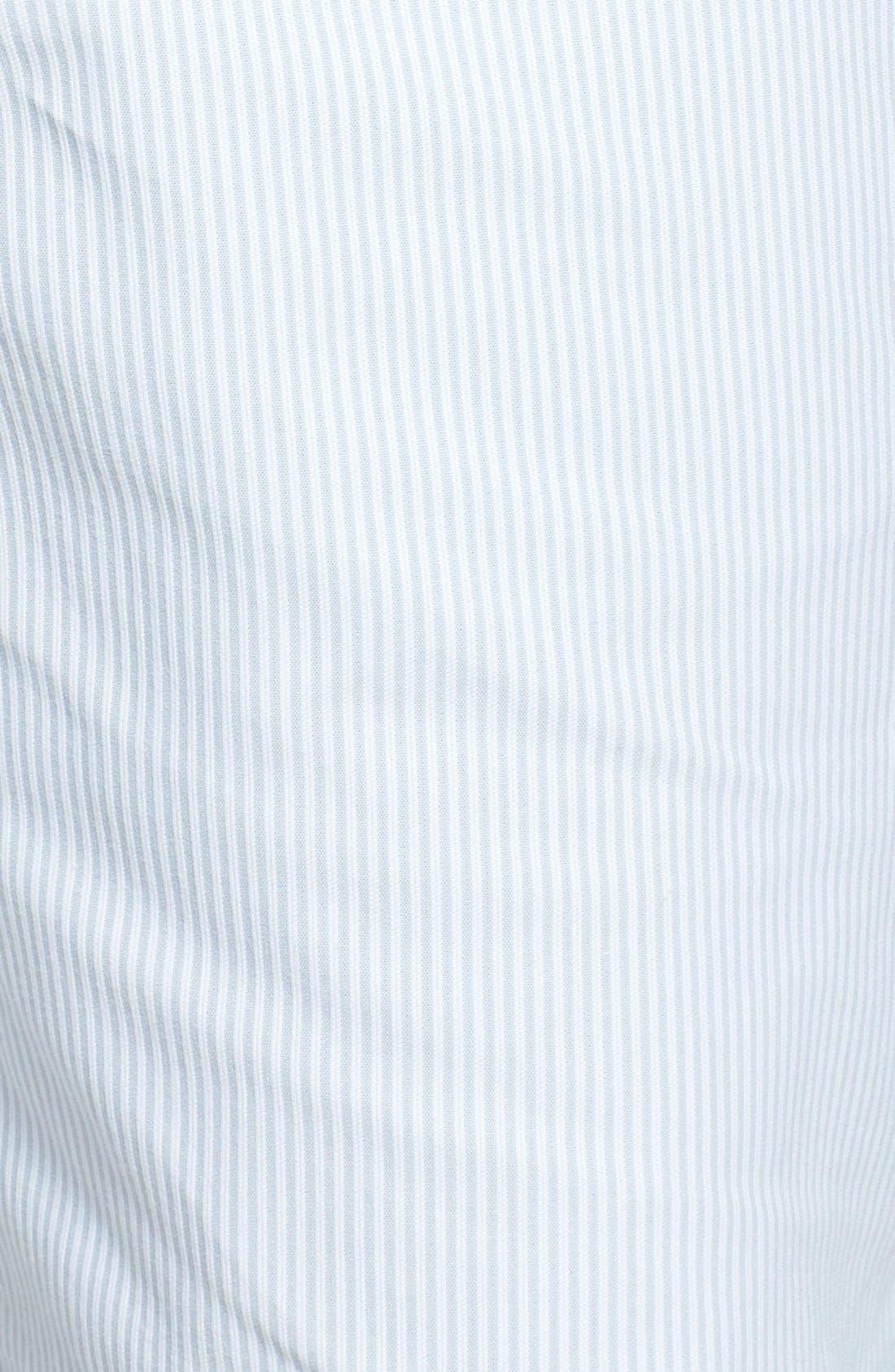 Alternate Image 3  - Original Penguin Tailored Stripe Trouser Shorts
