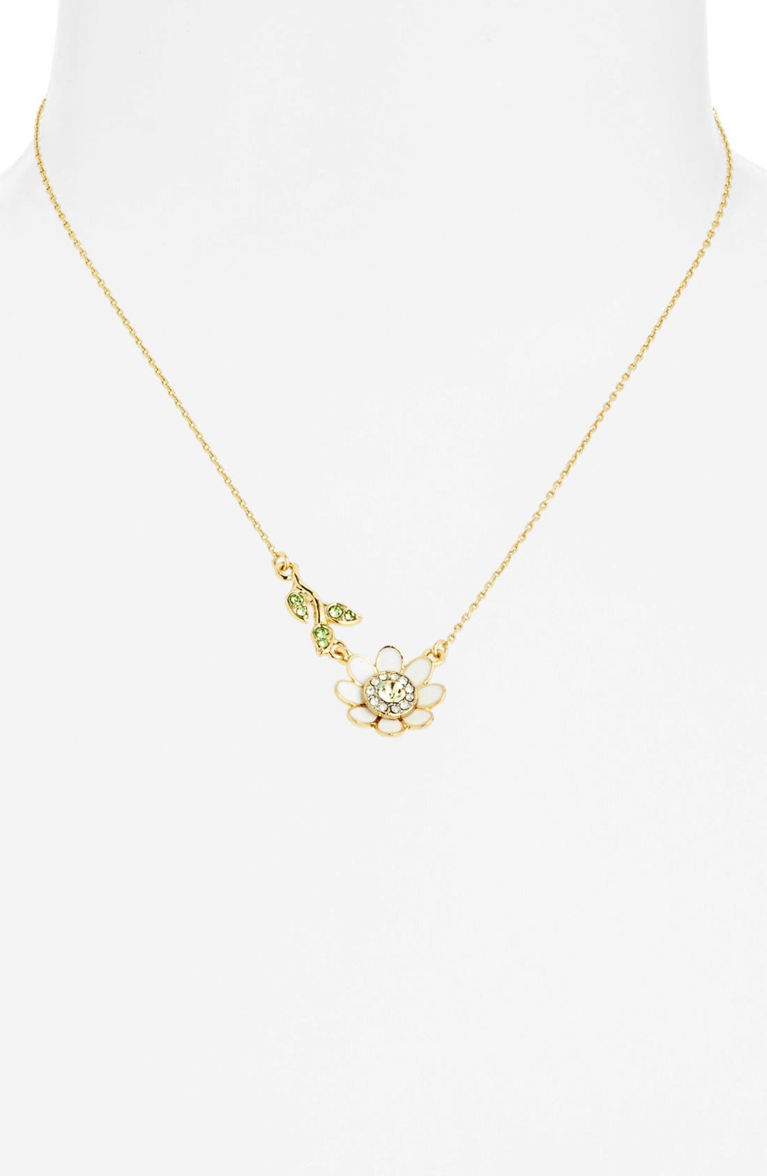 Alternate Image 2  - Juicy Couture 'Juicy in Bloom' Daisy Pendant Necklace