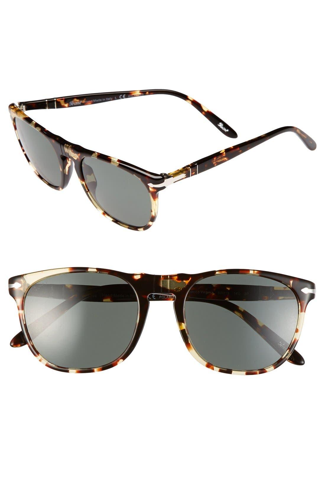 Alternate Image 1 Selected - Persol 52mm Retro Keyhole Sunglasses