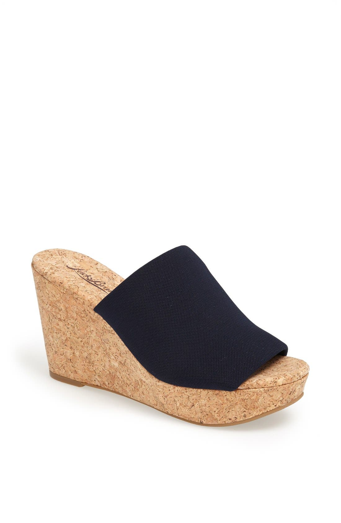 Alternate Image 1 Selected - Lucky Brand 'Marilynn' Wedge Sandal