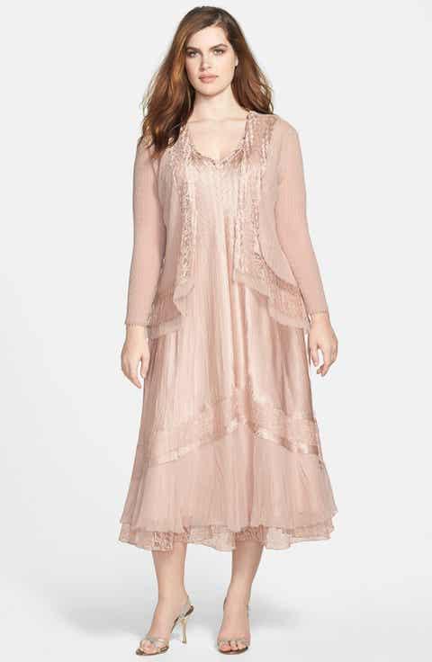 Mid-Length Plus-Size Dresses | Nordstrom