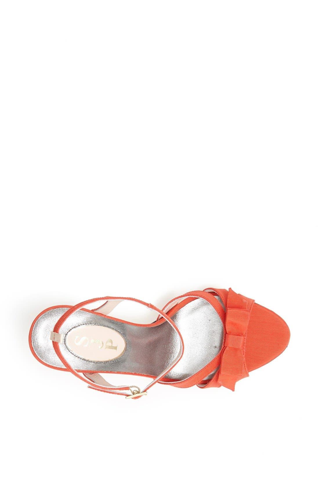 Alternate Image 3  - SJP 'Silvia' Grosgrain Ankle Strap Sandal (Nordstrom Exclusive)