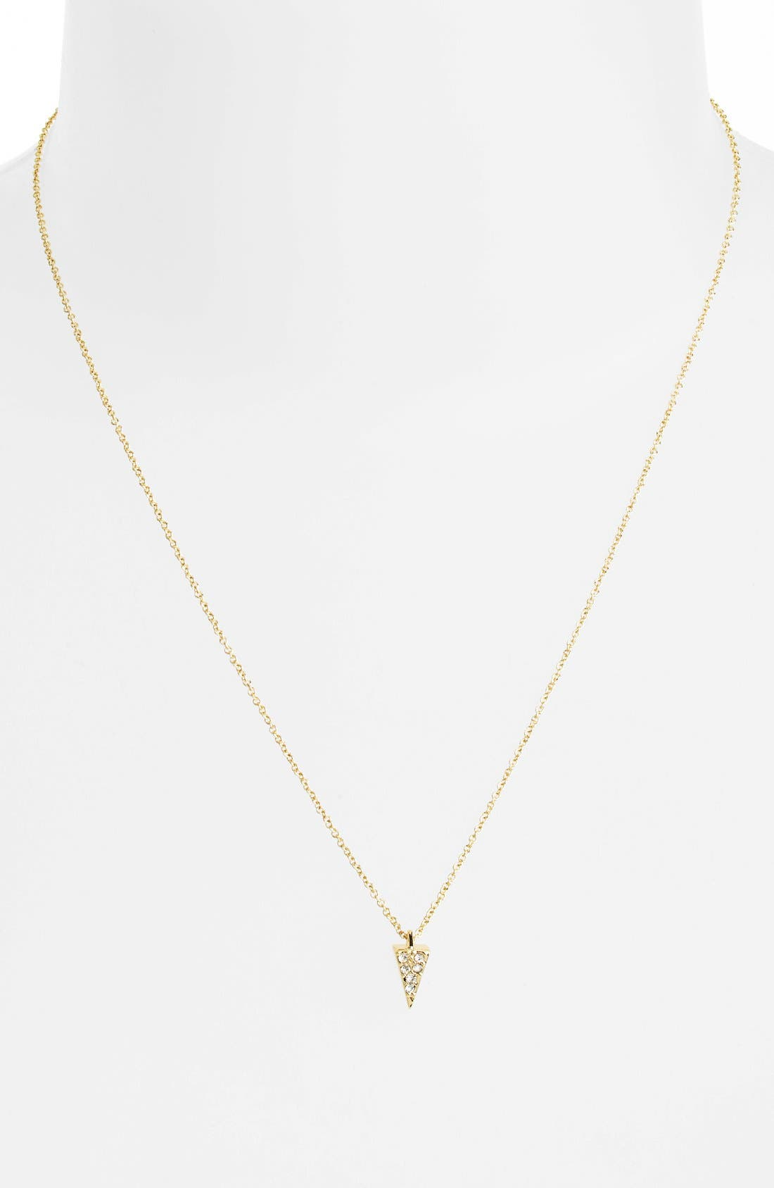 Alternate Image 2  - Rebecca Minkoff 'Jewel Box' Pavé Mini Spike Pendant Necklace