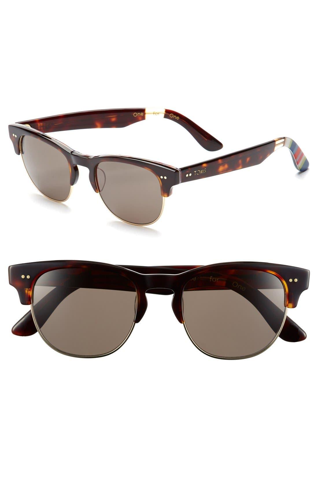 Alternate Image 1 Selected - TOMS 'Lobamba' 50mm Sunglasses