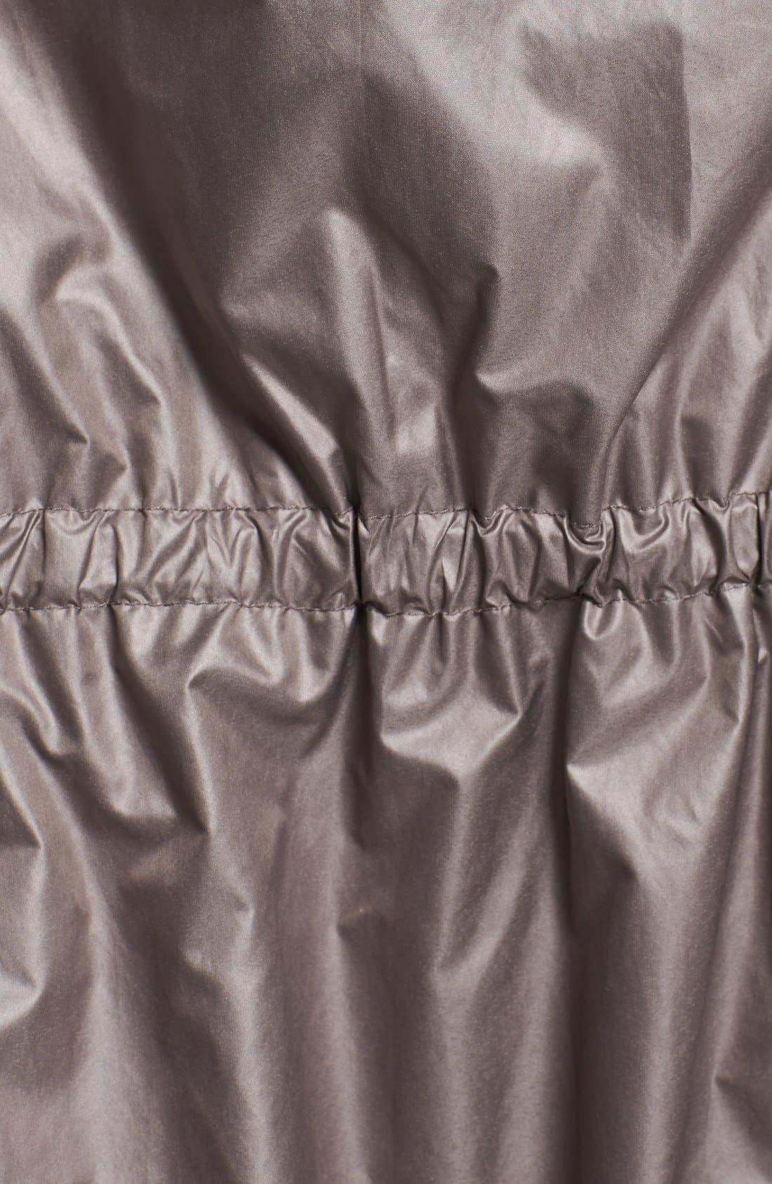 Alternate Image 3  - Elie Tahari 'Bluebell' Zip Insert Ruffled Anorak