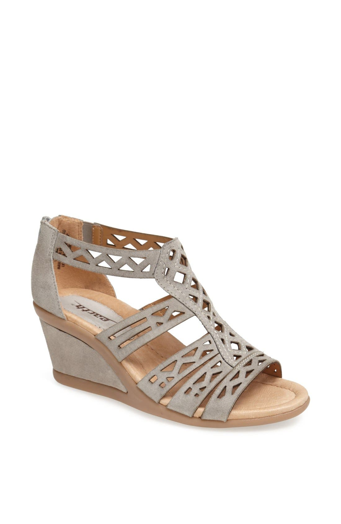 Alternate Image 1 Selected - Earth® 'Petal' Wedge Sandal