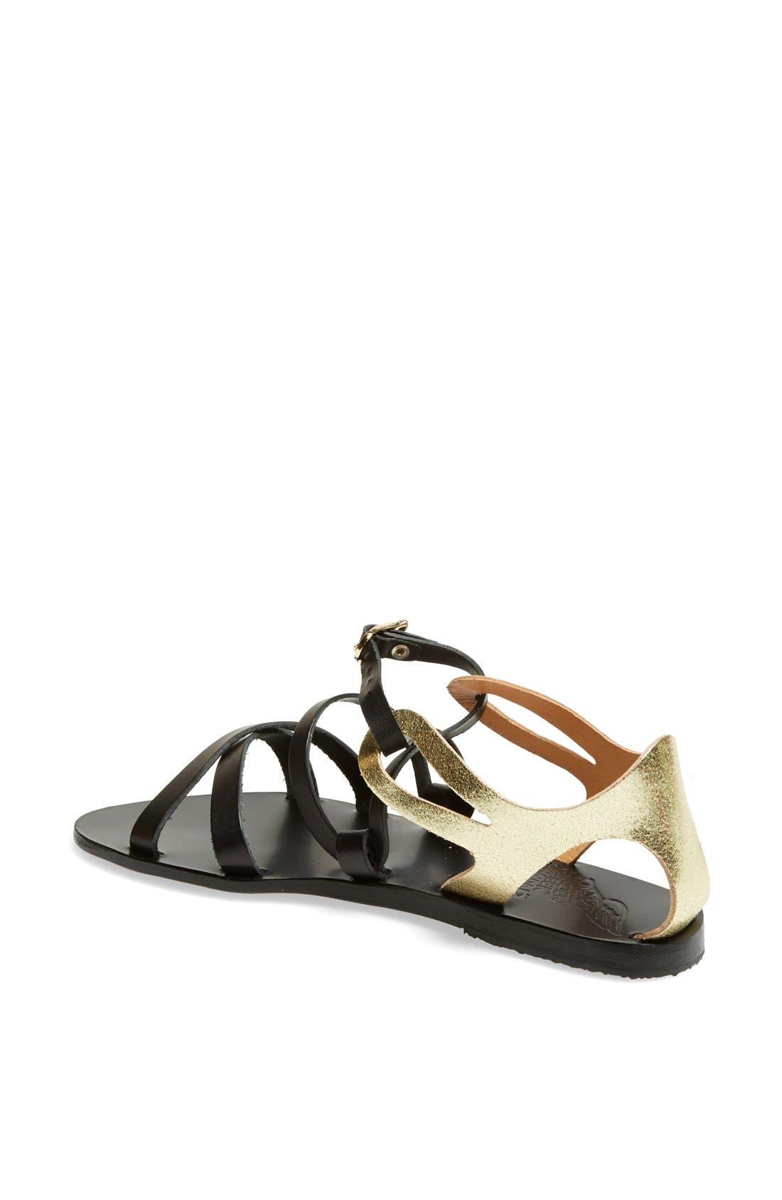 Alternate Image 2  - Ancient Greek Sandals 'Ellie' Leather Ankle Strap Sandal