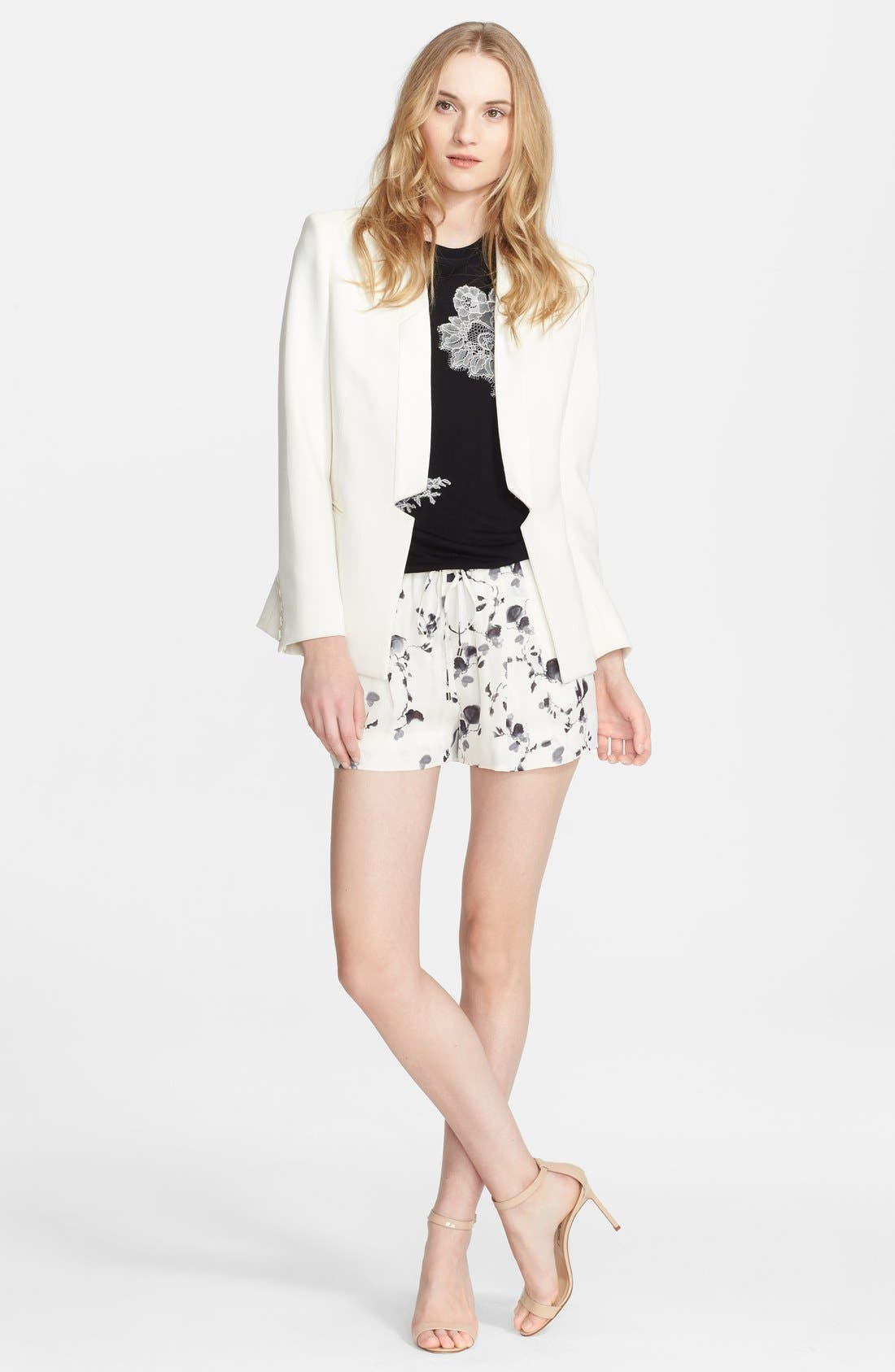 Main Image - Haute Hippie Blazer, Tee & Shorts