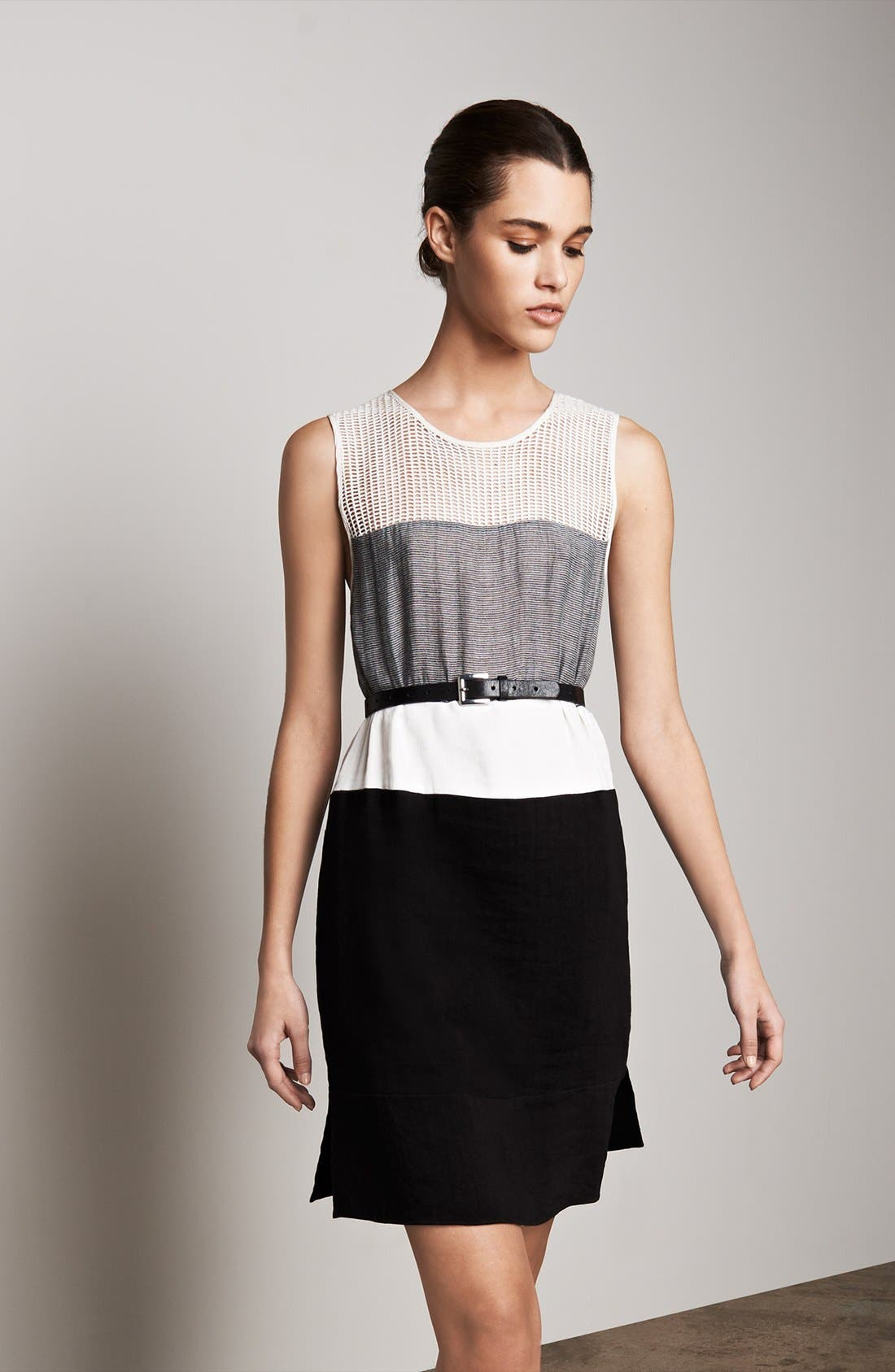 Alternate Image 2  - L'AGENCE Colorblock Dress & Accessories