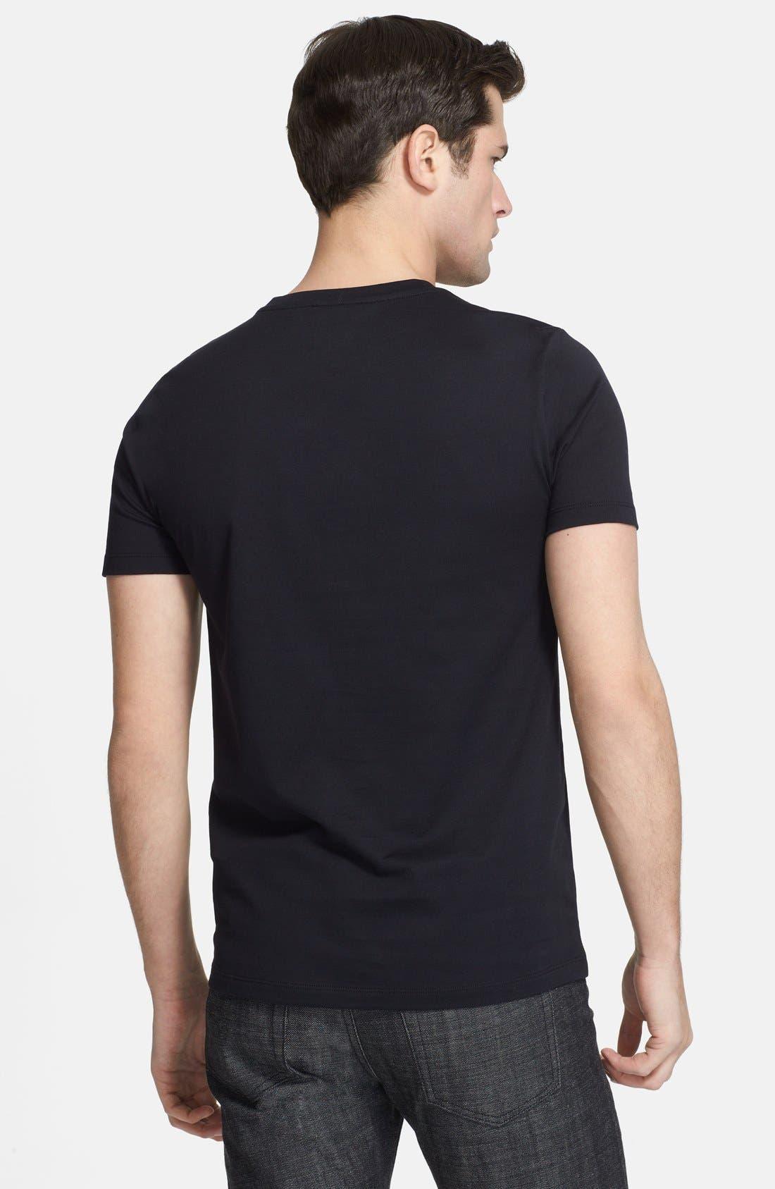 Alternate Image 2  - Versace Medusa Print Crewneck T-Shirt