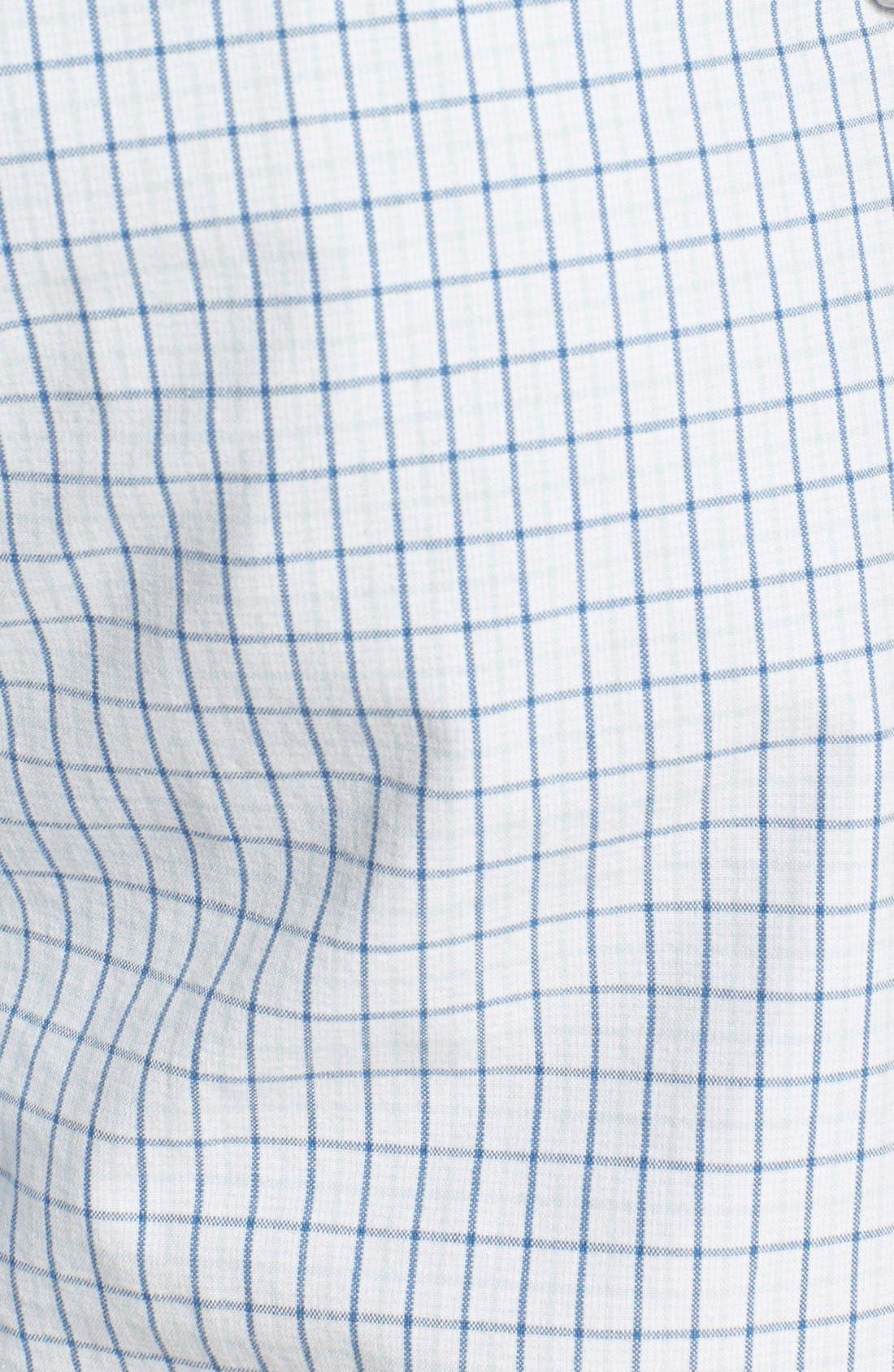 Alternate Image 3  - Quiksilver 'Hampton' Plaid Cotton Shorts