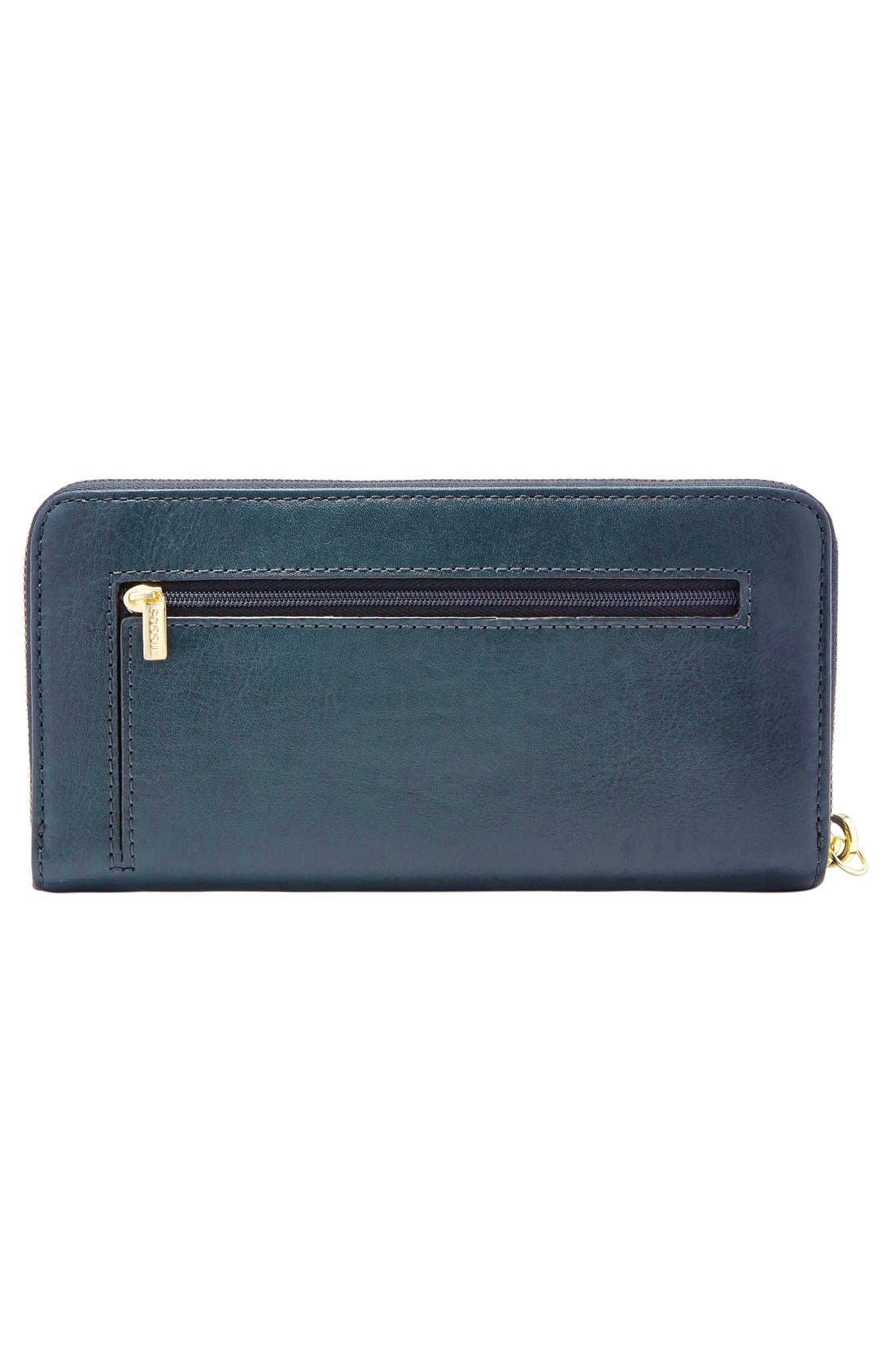 Alternate Image 2  - Fossil 'Sydney' Zip Clutch Wallet