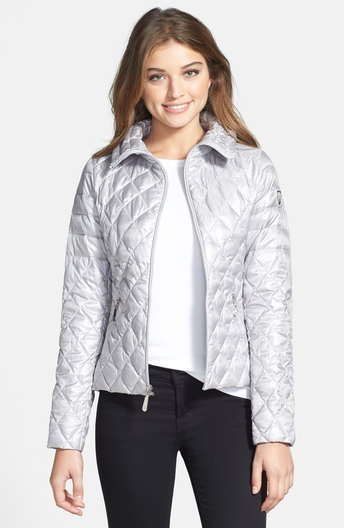 Alternate Image 1 Selected - Vince Camuto Packable Quilted Down Jacket