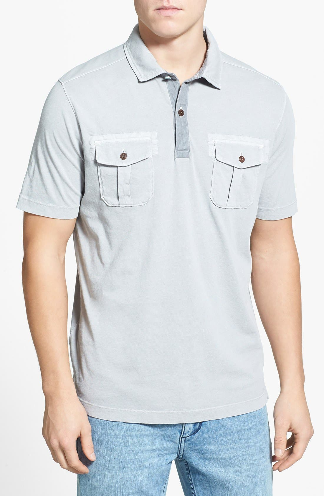 Alternate Image 1 Selected - Tommy Bahama 'Pilot' Island Modern Fit Polo