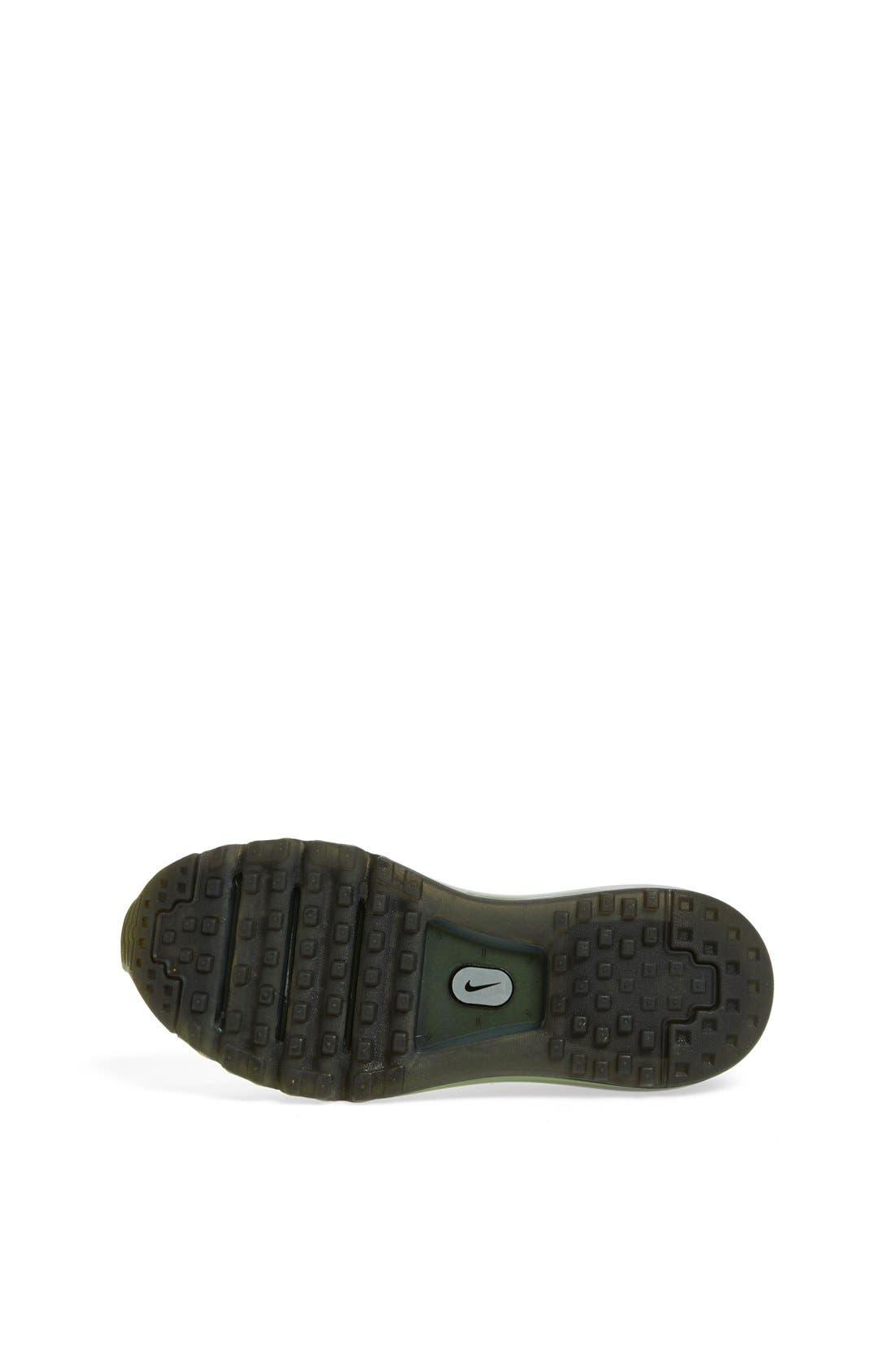 Alternate Image 4  - Nike 'Air Max 2014' Running Shoe (Big Kid)