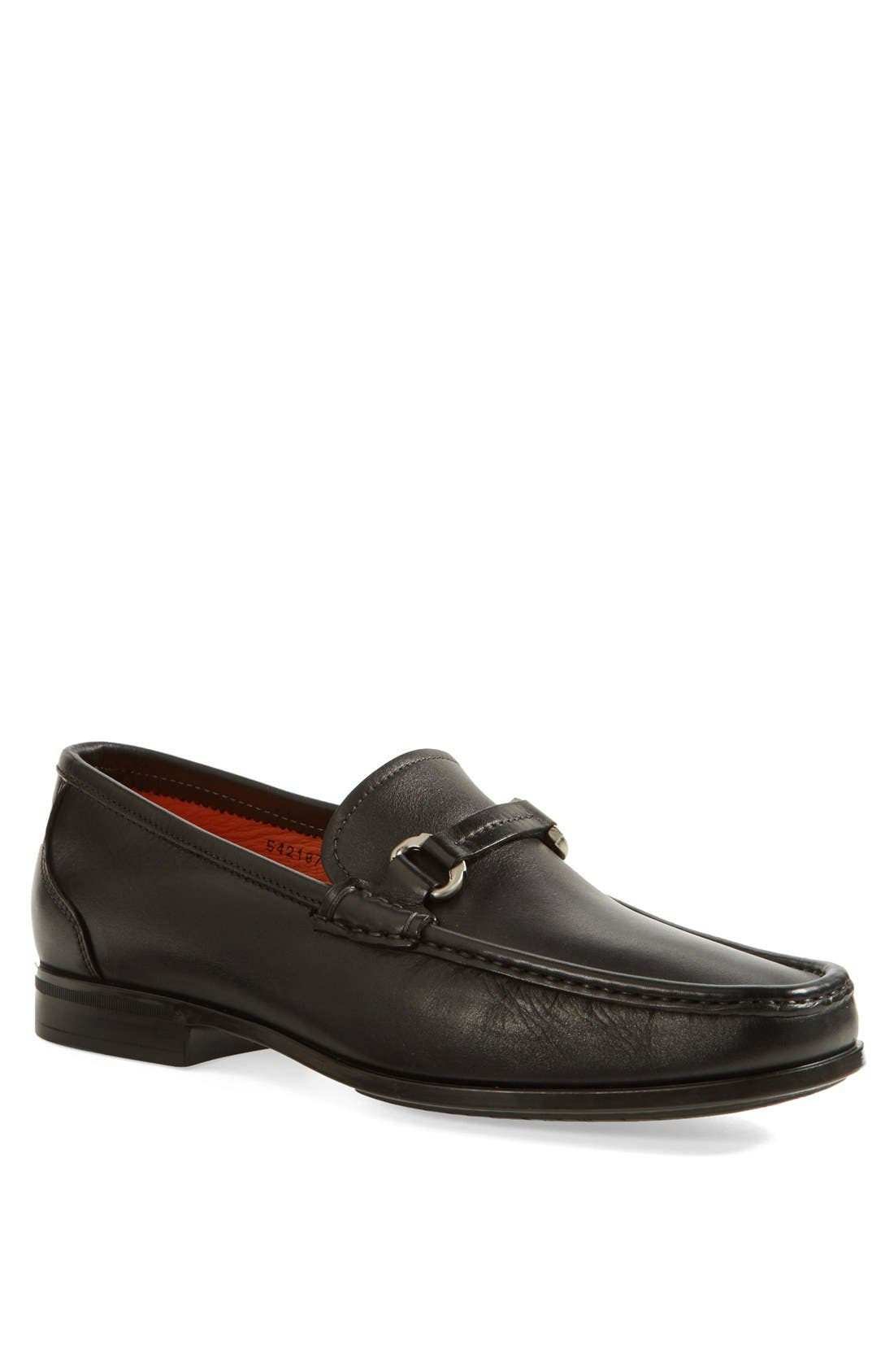 Alternate Image 1 Selected - Santoni 'Vance' Bit Loafer (Men)
