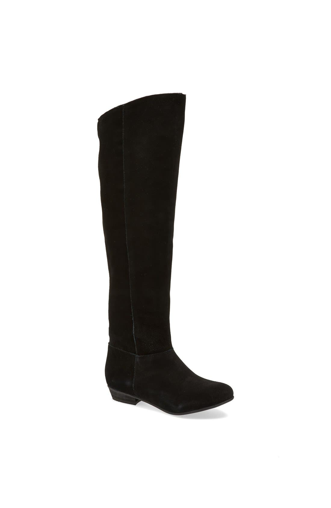 Alternate Image 1 Selected - Steve Madden 'Cuality' Knee High Suede Boot