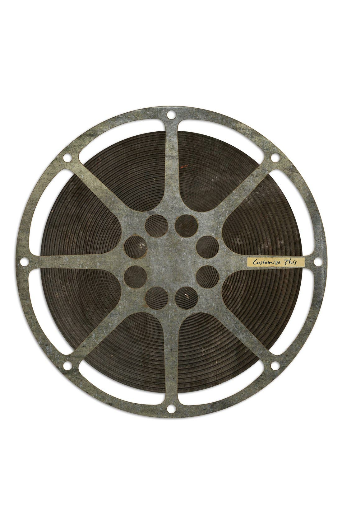 Main Image - Spicher and Company 'Film Reel' Vintage Look Wall Art