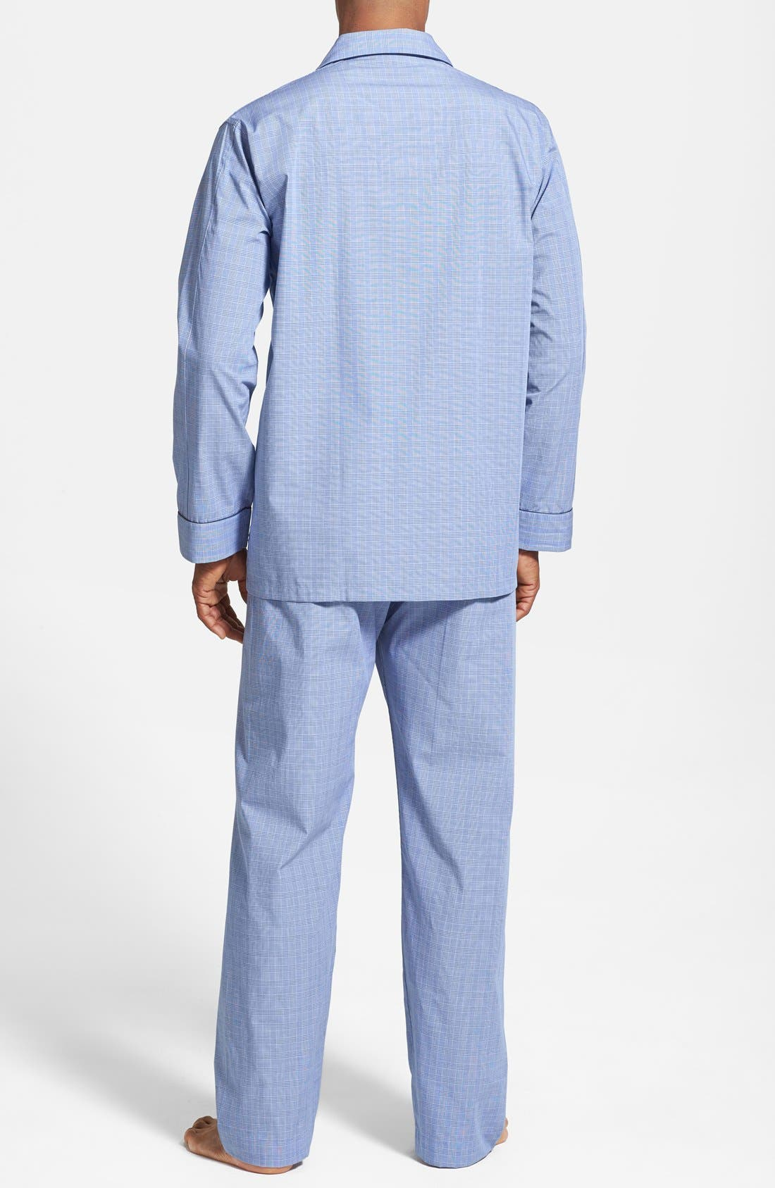 Alternate Image 2  - Derek Rose Cotton Pajamas