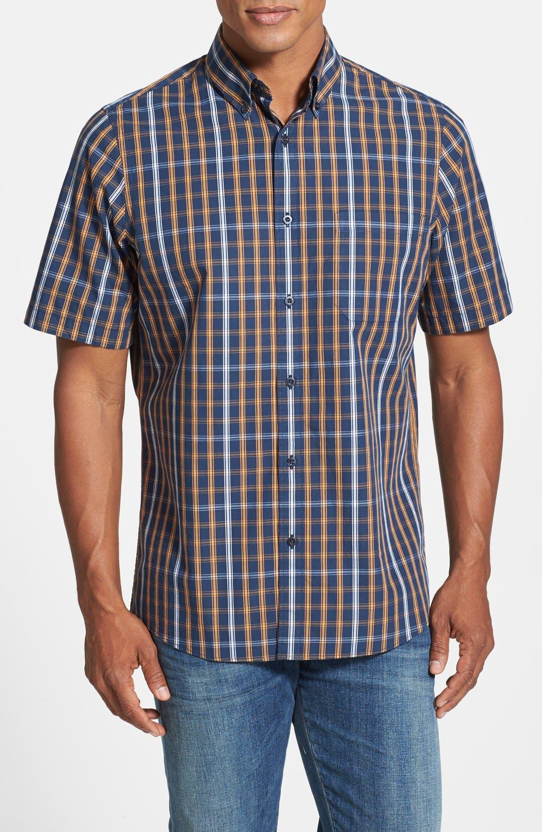 Alternate Image 1 Selected - Nordstrom Short Sleeve Woven Sport Shirt