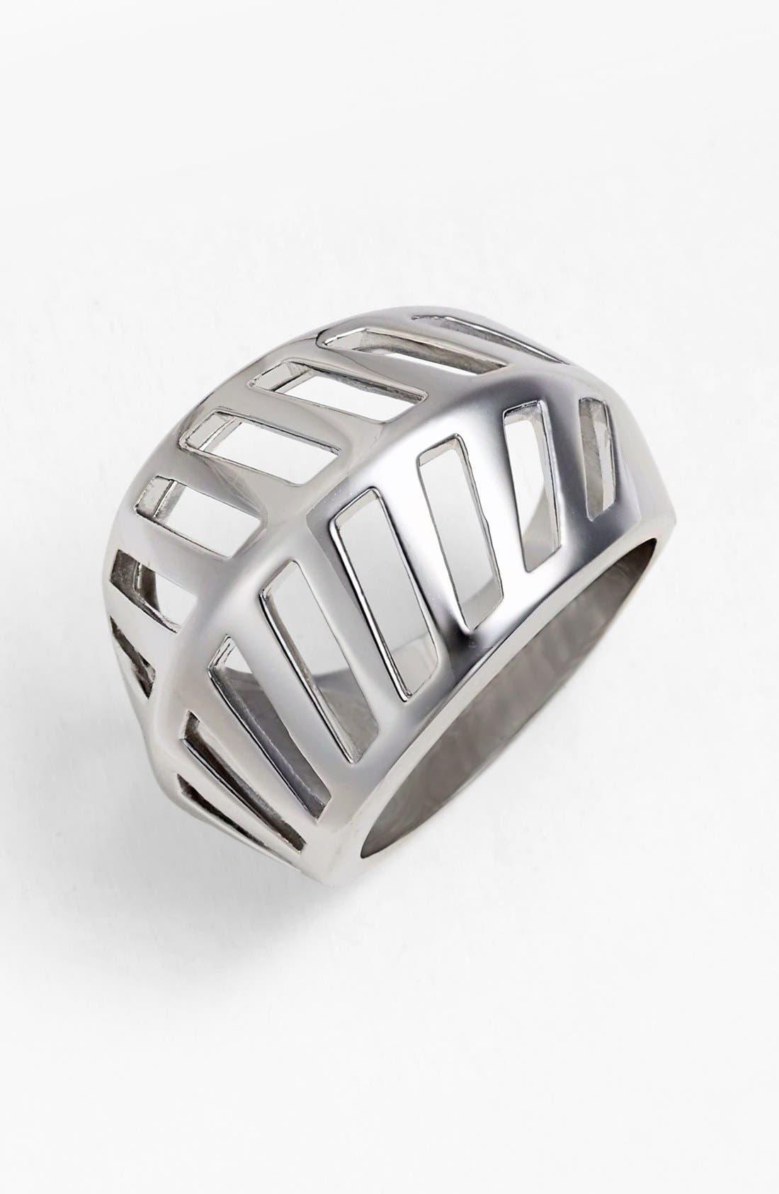 Main Image - Rebecca Minkoff 'Sliced Diamonds' Open Ring