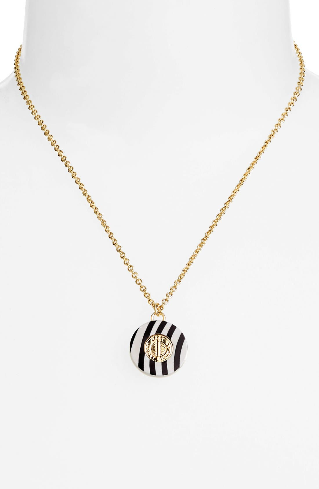 Alternate Image 2  - MARC BY MARC JACOBS 'Charmed Pattern Coin' Pendant Necklace