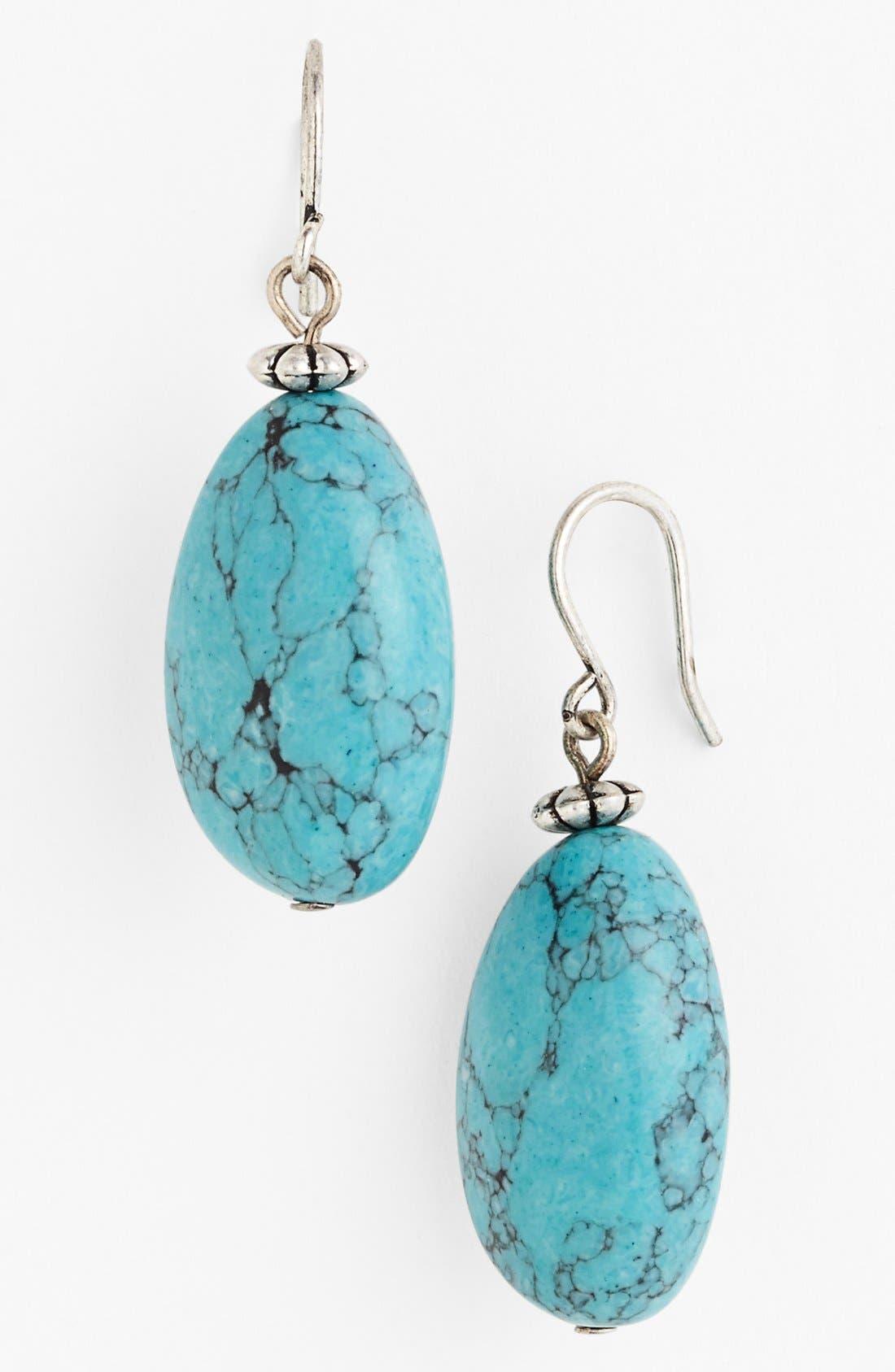 Alternate Image 1 Selected - Lauren Ralph Lauren Stone Drop Earrings