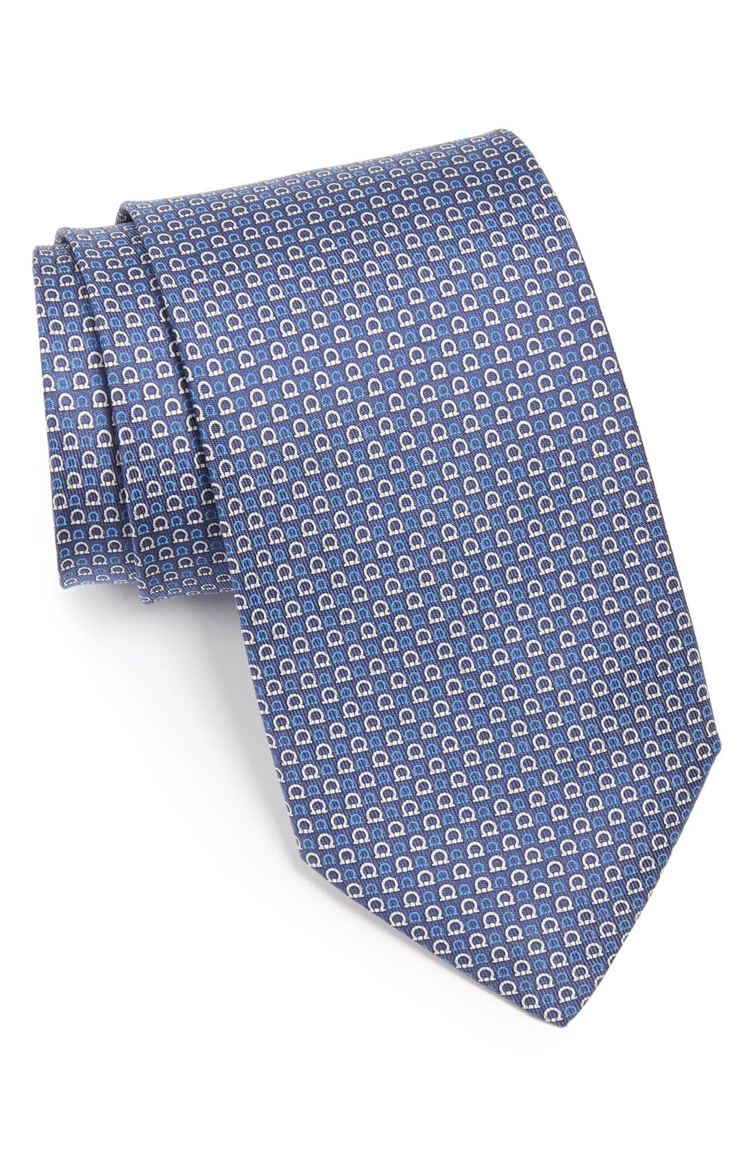 Alternate Image 1 Selected - Salvatore Ferragamo Gancini Print Tie