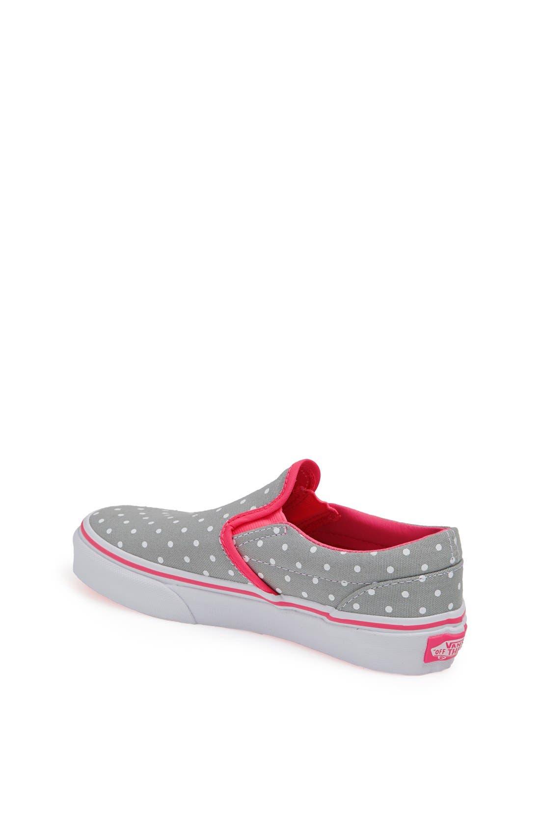 Alternate Image 2  - Vans Slip-On Sneaker (Toddler, Little Kid & Big Kid)