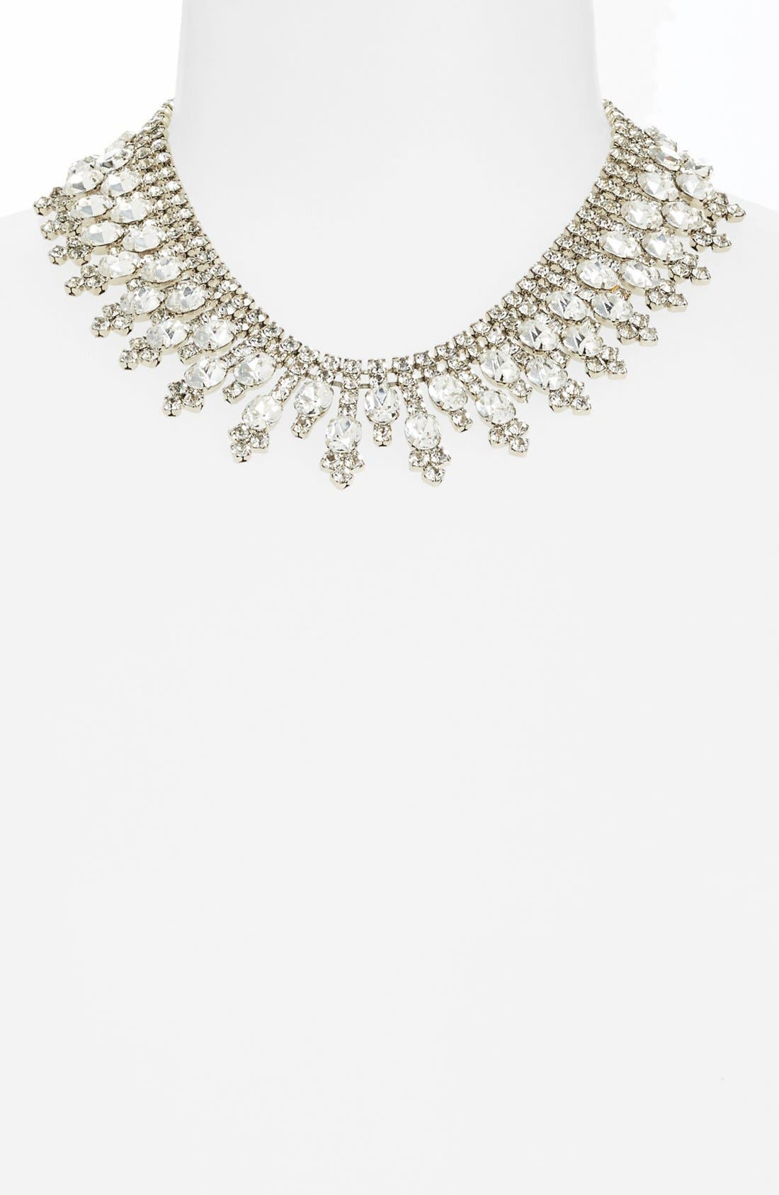 Alternate Image 2  - Nordstrom 'Occasion' Spike Crystal Collar Necklace