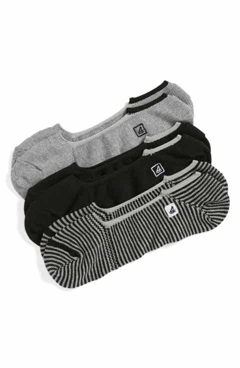 Sperry Skimmers Feed Assorted 3-Pack Socks